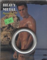 Těžký HEAVY METAL kroužek na penis - 45 mm