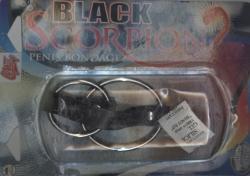 Black Scorpion: dva spojené kovové kroužky na penis