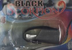 Black Scorpion: kožený návlek na penis
